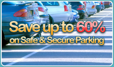 Save up to 60% on airport parking